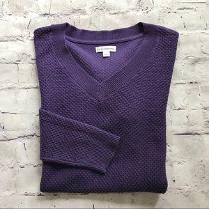 Croft & Barrow Lightweight V-Neck Sweater